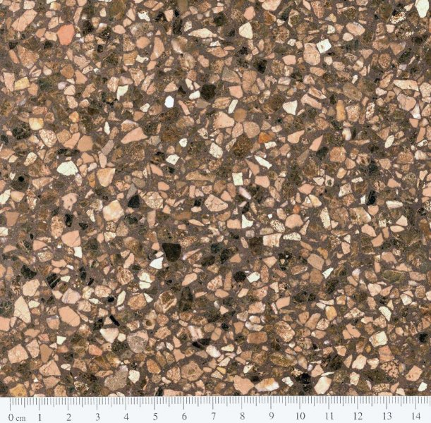 Eurogolv cementmosaik konstbetong fogplatt terrazzo agglo baghin ecostone agglobaghin® marble MOKA EM 1082