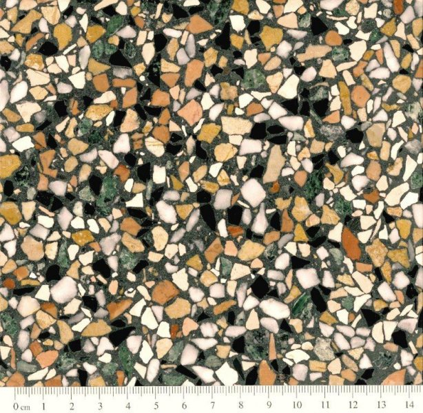 Eurogolv cementmosaik konstbetong fogplatt terrazzo agglo baghin ecostone agglobaghin® old style STOCCOLMA EM 1088