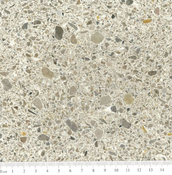 Eurogolv cementmosaik konstbetong fogplatt terrazzo agglo baghin ecostone agglobaghin® marble CENERE EM 24412