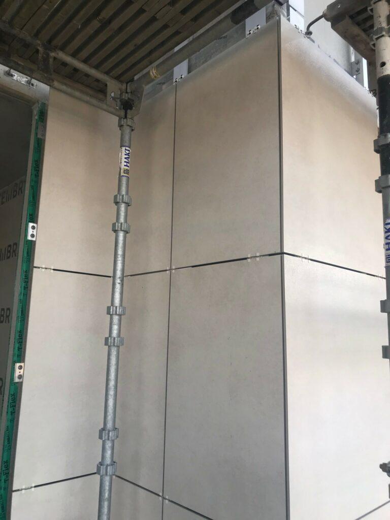 Eurogolv Kakel Klinker Terrazzo Natursten montering fasadelement granit keramik Lund 4