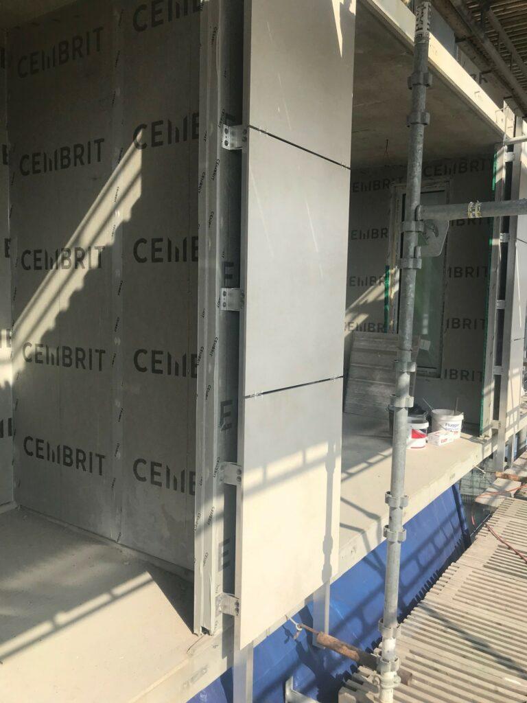 Eurogolv Kakel Klinker Terrazzo Natursten montering fasadelement granit keramik Lund 5